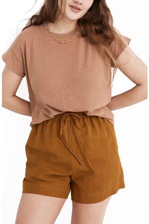Madewell Women's Linen Blend Asbury Tee