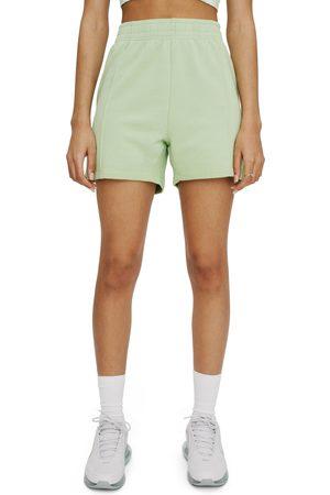 Eleven Paris Women's Pintuck Fleece Shorts