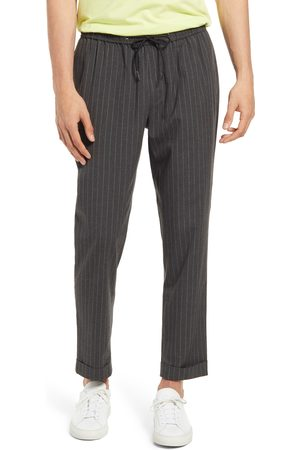Open Edit Men's Pinstripe Drawstring Pants