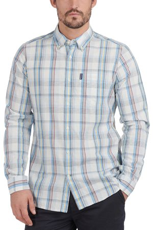Barbour Men's Madras Tailored Button-Down Shirt