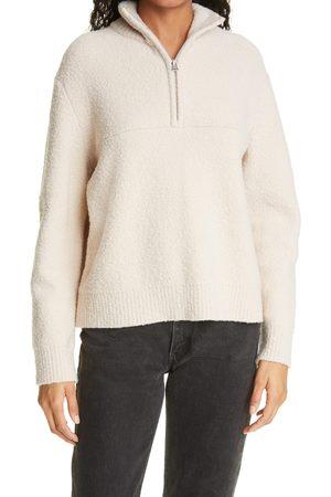 Jenni Kayne Women's Merino Wool Half Zip Pullover