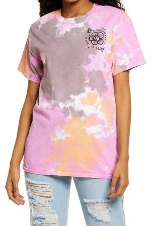 BDG Urban Outfitters Women's Make It Fun Tie Dye Graphic Tee