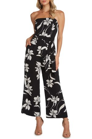 Willow Women's Ryan Strapless Wide Leg Jumpsuit