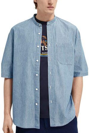 Scotch&Soda Men's Short Sleeve Button-Up Shirt