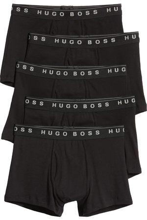 HUGO BOSS Men's 5-Pack Cotton Trunks