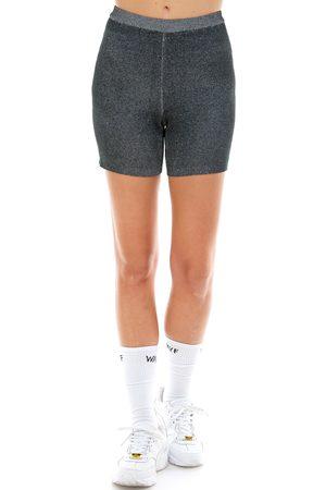 WAYF Women's '98 Luke Heathered Bike Shorts