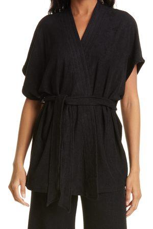 SIMON MILLER Women's Lono Cotton & Modal Terry Wrap Tunic Top