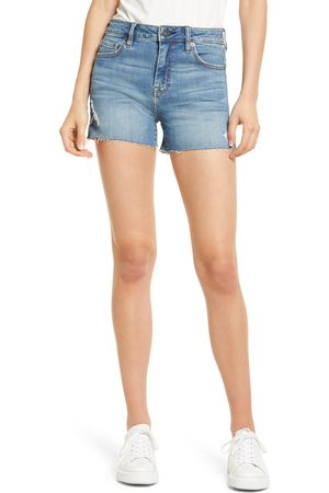 Hidden Jeans Women's Raw Hem Denim Shorts