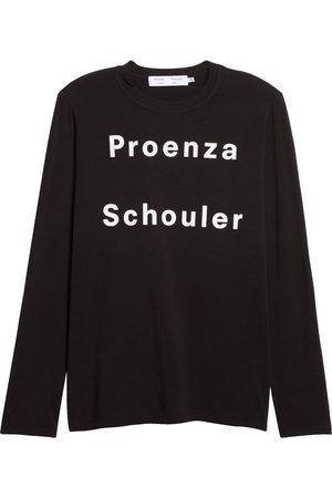 Proenza Schouler Women's Women's Long Sleeve Logo Graphic Tee