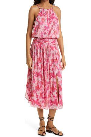 Ramy Brook Women's Alexa Print Sleeveless Drop Waist Dress