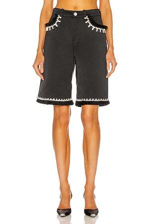 AREA Women Shorts - Five Pocket Short in