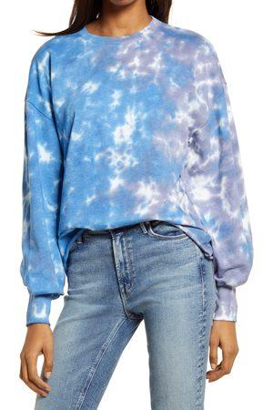 Treasure & Bond Women's Blouson Sleeve Sweatshirt