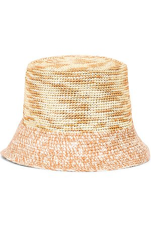SENSI STUDIO Lamp Shade Hippie Hat in Neutral