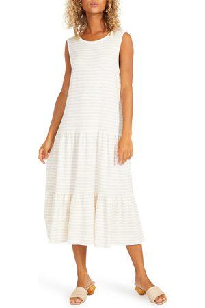 Steve Madden Women's Longest Weekend Sleeveless Stripe Dress