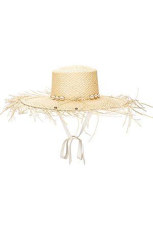 SENSI STUDIO Hippie Beach Hat in Neutral