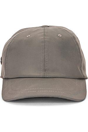 Rick Owens Women Caps - X Champion Nylon Baseball Cap in Grey