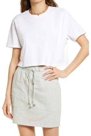 Open Edit Women's Boxy Crop T-Shirt