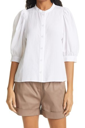 Samsøe Samsøe Women's Sams?e Sams?e Mejse Puff Sleeve Button-Up Shirt