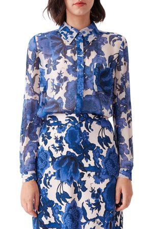 DVF Women's Lorelai Floral Button-Up Shirt