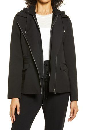 Nordstrom Women's Moto Hooded Jacket