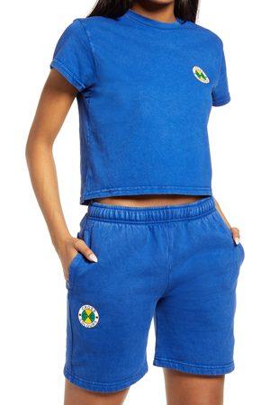 CROSS COLOURS Women's Women's Logo Crop T-Shirt