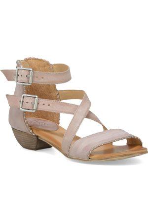 Miz Mooz Women's Cosmo Dual Buckle Sandal