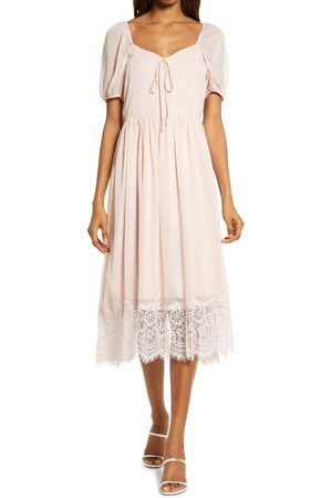 Chelsea Women's Chiffon & Lace Dress