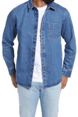 A.P.C. Men's Victor Denim Shirt Jacket