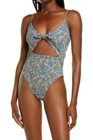 VERONICA BEARD Women's Aniston Cutout One-Piece Swimsuit