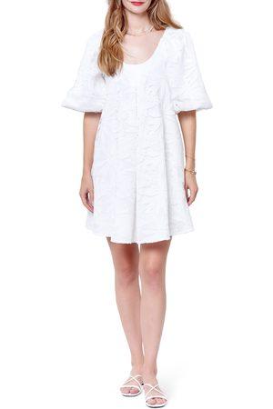 Corey Lynn Calter Women's Corey Lynn Carter Hariette Lace Puff Sleeve Minidress