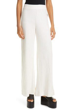 SIMON MILLER Women's Loa Wide Leg Cotton & Modal French Terry Pants