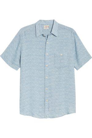 Faherty Men's Playa Short Sleeve Button-Up Floral Shirt