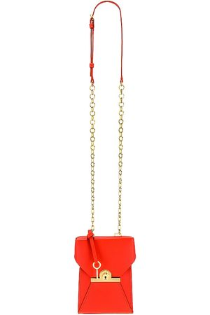 ZAC Zac Posen Women Clutches - Amelia Phone Crossbody in Red.