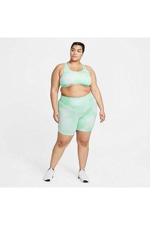 Nike Women's One Icon Clash Bike Shorts in / Glow