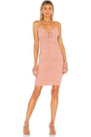 MAJORELLE Women Bodycon Dresses - Chani Dress in Blush.