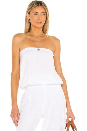 Bobi Beach Gauze Top in .