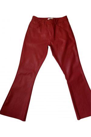 Motivi \N Vegan leather Trousers for Women