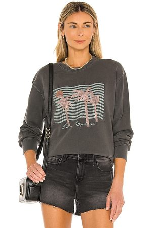 Rails Ramona Sweatshirt in Charcoal Grey.