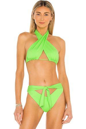 Frankies Bikinis Women Bikinis - Bash Bikini Top in .