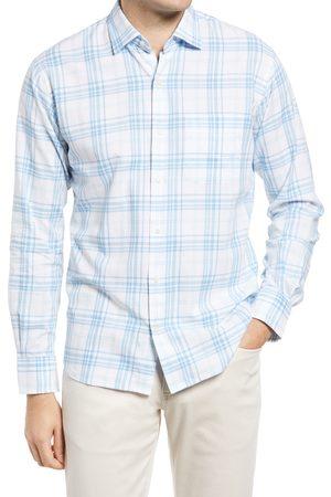 Peter Millar Men's Seawater Classic Fit Plaid Button-Up Shirt