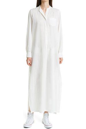 NILI LOTAN Women's Sandra Galabeya Long Sleeve Cotton Cover-Up Dress