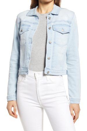 Rachel Parcell Women's Distressed Denim Jacket