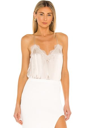 CAMI Racer Charmeuse Cami in Nude.