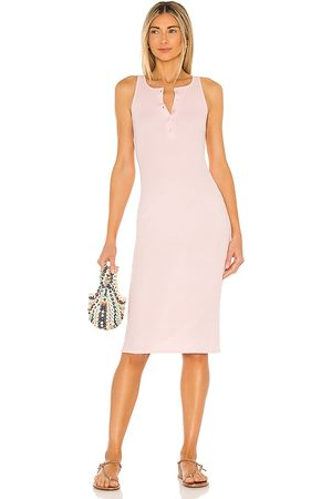 Lovers + Friends Women Bodycon Dresses - Celeste Midi Dress in Blush.
