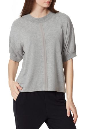 Anne Klein Sport Women's Lennox Twill Tape T-Shirt