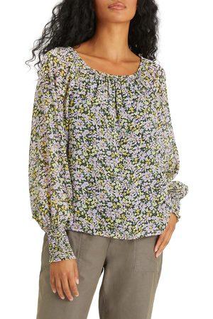Sanctuary Women's Sunshine Floral Convertible Off The Shoulder Top