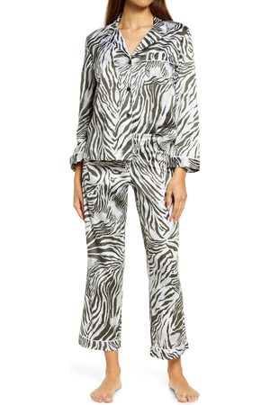 Natori Women's Zebra Sateen Pajamas