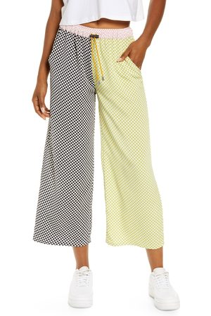 KKCO Women's Mixed Checker Lounge Pants