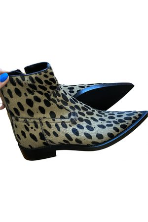 MM6 \N Vegan leather Ankle boots for Women