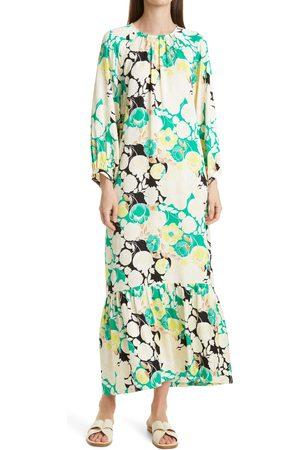 Rodebjer Women's Wanda Floral Print High/low Dress